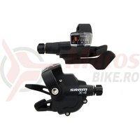 Manete schimbator SRAM X.4 trigger 8+3v negre