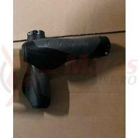 Mansoane ergo, lock-on, 134mm, negru/gri