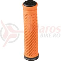 Mansoane lock-on Kross Certain 131 mm orange