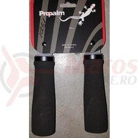 Mansoane Propalm PRO-C1026EP1 128mm cu lock-on aluminiu spuma negre