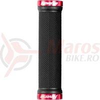 Mansoane Reverse Classic 130/31mm negru/rosu