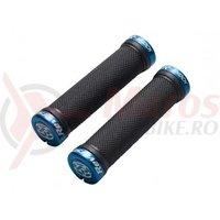 Mansoane Reverse R-Shock soft compound 31/130mm negru/albastru