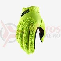 Manusi Airmatic Fluo Yellow/Black Gloves