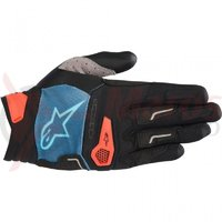 Manusi Alpinestars Drop Pro poseidon blue/energy orange