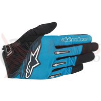 Manusi Alpinestars Flow Glove bright blue black marime XL