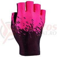 Manusi fara degete Supacaz SupaG - negru / roz neon