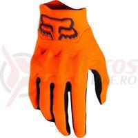 Manusi Fox Bomber Lt Glove [Blk/Org]