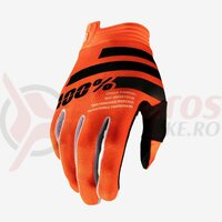 Manusi Itrack Orange/Black Gloves