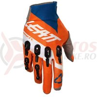 Manusi Leatt Glove GPX 4.5 Lite org/denim