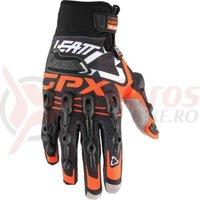 Manusi Leatt Glove GPX 5.5 Windblock blk/org