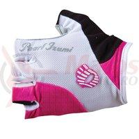 Manusi Pearl Izumi elite gel femei essentials ride pink white