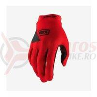 Manusi Ridecamp Red Gloves
