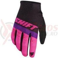 Manusi Shift MX-Glove Whit3 Air glove black/pink