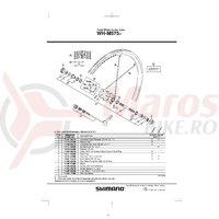 Niplu WH-M575 Shimano