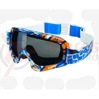 Ochelari de protectie IXS Storm Shard albastru-orange-alb