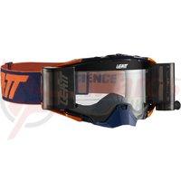 Ochelari Leatt Goggle Velocity 6.5 Roll-Off Ink/Orange Clear 83%