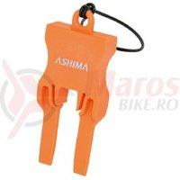 Opritor plastic Ashima RT-PP-U-1 pentru placute etrier frana compatibil Shimano Avid Tektro