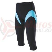 Pantaloni 3/4 Shimano indoor femei negru/albastru