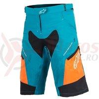 Pantaloni Alpinestars Stella Drop 2 ocean/bright orange