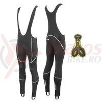 Pantaloni Force Z70 cu bretele si bazon negri