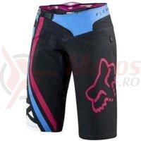 Pantaloni Fox Mtb-Pant Womens Flexair Seca short black/pink