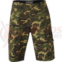 Pantaloni Fox Slambozo Camo Cargo short grn cam
