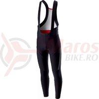 Pantaloni lungi cu bretele Castelli Sorpasso 2 negru/gri