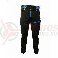 Pantaloni Lungi Haven Singletrail Negru Albastru