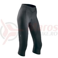 Pantaloni Northwave Crystal 2 trei sfert dama negru