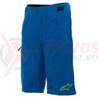 Pantaloni scurti Alpinestars Outrider Water Resistant Base Shorts dark blue/lime