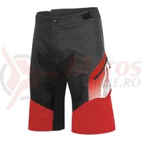 Pantaloni scurti Alpinestars Predator black/red