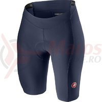 Pantaloni scurti Castelli Velocissima 2 de dama albastru inchis/roz