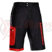 Pantaloni scurti Merida F196 Baggy Enduro red/black