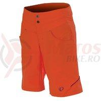 Pantaloni scurti Pearl Izumi MTB queen femei ride mandarin red