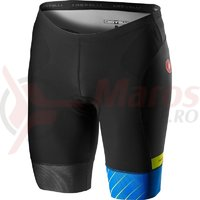 Pantaloni scurti pentru triatlon Castelli Free Tri negru/albastru