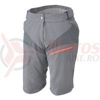 Pantaloni Scurti Shimano Accu3D explorer femei sand gray/orange