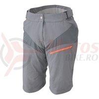 Pantaloni Scurti Shimano Accu3D explorer femei sand gray/orange
