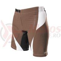 Pantaloni scurti Shimano MTB pentru femei maro