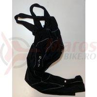 Pantaloni Shimano Accu-3D cu bretele sub zero fara bazon negru