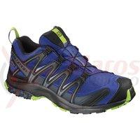 Pantofi alergare Salomon XA Pro 3D Gore-Tex maz blue/bk/ lime gre barbati