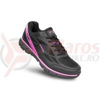 Pantofi ciclism FLR Energy Mtb negru/roz