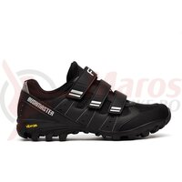 Pantofi ciclism FLR Freeride Bushmaster MTB negru/argintiu