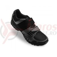 Pantofi ciclism Giro berm dark shadow black
