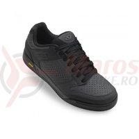 Pantofi ciclism Giro Riddance dark shadow black