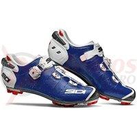 Pantofi ciclism MTB Sidi Drako 2 SRS albastru/alb