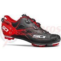 Pantofi ciclism MTB Sidi Tiger Matt Carbon SRS negru/rosu