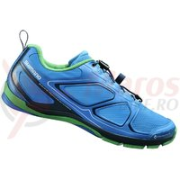 Pantofi ciclism Shimano Click-R SH-CTR71L Blue