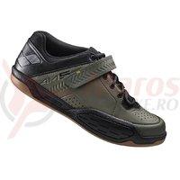Pantofi ciclism Shimano Gravity SH-AM500MG Army Green