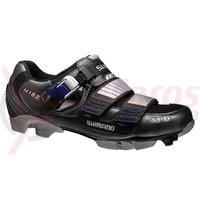 Pantofi ciclism Shimano MTB SH-M182 Steel Metallic