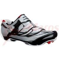 Pantofi ciclism Shimano MTB SH-M315 Silver/Red